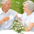 Royalty-Free Stock Photo: Nice elderly couple