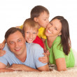 Family of four — Stock Photo #5515424