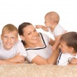 Nice family of four — Stock Photo #5515659