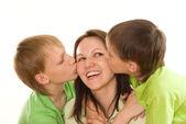 Mamma och barn — Stockfoto
