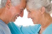 Happy elderly couple — Stock Photo
