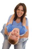 Moeder en haar kind samen — Stockfoto