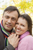 Linda pareja feliz — Foto de Stock