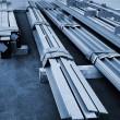 New metal beams — Stock Photo #5486963