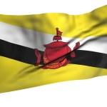 Постер, плакат: Flying Flag of Brunei All Countries