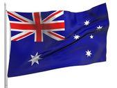 Flagge australien - alle länder — Stockfoto