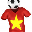 National Soccer Team of Vietnam All Teams Collection — Foto Stock #6467717