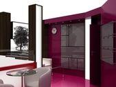 Exhibition Stand Interior Sample — Stock Photo