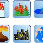desastres naturales — Foto de Stock