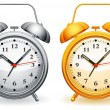 Alarm clock. - Stock Vector