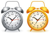 Alarm clock. — Stock Vector