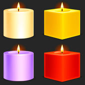 Candles. — Vecteur