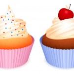 Cupcakes. — Stock Vector #6532319