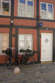 In the Danish provincial town — Stock Photo