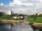 Skyline of Vitebsk town, Belarus — Stock Photo