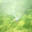 Royalty-Free Stock Photo: Sprinkler Spraying Water On Grass