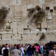 Holy Wailing Wall (Place for women) — Stock Photo