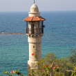 Minaret In Jaffa (Tel Aviv) - Stock Photo