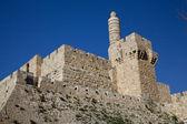 耶路撒冷,大卫塔 — 图库照片