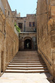Treppe in jerusalem — Stockfoto