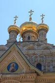 Church of Mary Magdalene, Jerusalem — Stock Photo