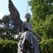 Statue of angel, Mainau — Stock Photo