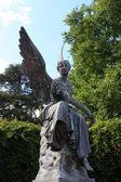 Pomnik anioła, mainau — Zdjęcie stockowe
