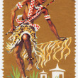 Burundi Tribal Dancers and musician — Stock Photo #5399645