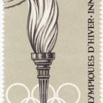 Постер, плакат: Torch in IX Olympic Winter games in Innsbruck