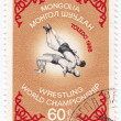 Wrestling World Championship in Toledo 1966 - ストック写真