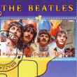 Постер, плакат: The Beatles 1960s famous musical pop group
