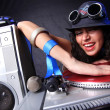 cool dj in aktion — Stockfoto #5491974