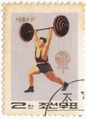 Weight Lifter — Stock Photo