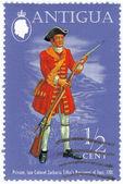 Private, Late Colonel Zacharia Tiffin's Regiment of Foot — Stock Photo