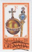 Queen's Silver Jubilee — Stock Photo