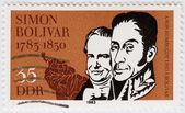 雅芳洪堡和西蒙 · 玻利瓦尔 — 图库照片