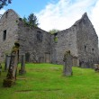 Gothic old cemetery in Blair castle area — Stock Photo