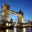 Evening Tower Bridge, London, GB — Stock Photo