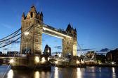 Evening Tower Bridge, London, GB — ストック写真