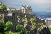 Edinburgh Castle , Scotland, GB — Stock Photo