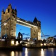 Evening Tower Bridge, London, GB — Stock Photo #6029615