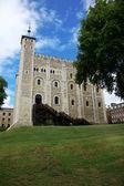 La torre blanca de la histórica torre de londres, reino unido — Foto de Stock