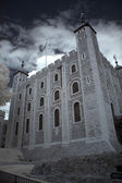 The White Tower of the historic Tower of London , UK — Stock Photo