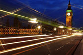 Big Ben and the House of Parliament at night, London, UK — Stock Photo