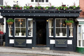 Exterior shot of a classic old Pub in London, UK — Stock Photo