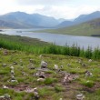 North part of Scotland end of Loch Shiel, GB — Stock Photo #6101936