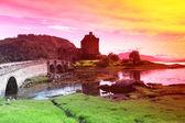 Castillo de eilean, escocia, gb — Stockfoto