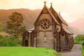 ST. Mary and St.Finnan Church It is located area of the Highlan — Stock Photo