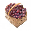 Crop of plums. — Stock Photo