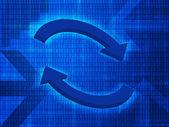 Communication background 2 — Stock Photo